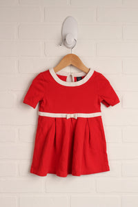 Red + White Dress (Size 18-24M) *STAFF PICK*