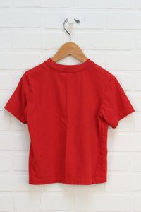 Red Graphic T-Shirt: Thomas (Size 5T)