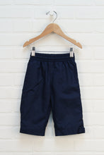 Navy Wide Leg Jersey Lined Splash Pants (Size 75/12M)