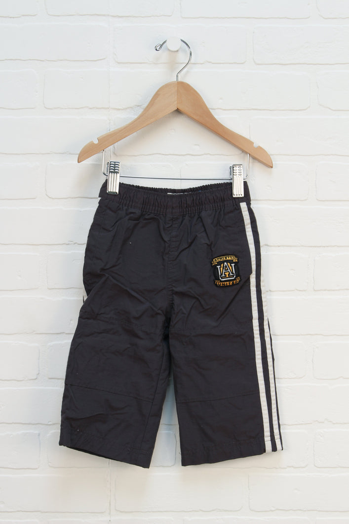Slate + White Mesh Lined Outdoor Pants (Size 12M)