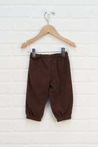 Brown Fleece Pants (Carter's 9M)