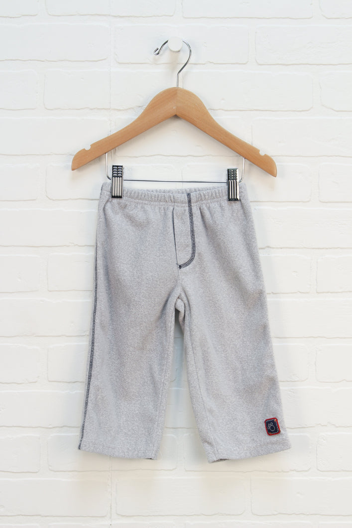 Heathered Grey Fleece Pants (Carter's Size 12M)