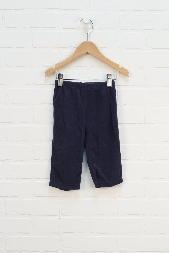 Navy Fleece Pants (Carter's Size 12M)