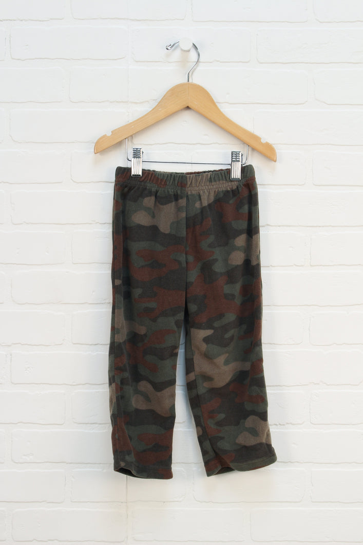 Camo Fleece Pants (Size 3T)