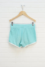 Turquoise French Terry Shorts (Size 12)
