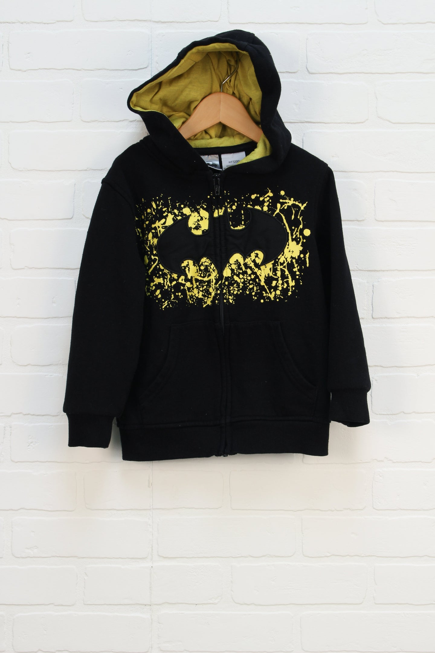 Black Graphic Hoodie: Batman (Size 5)