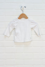 White Graphic T-Shirt: Bottle (Size 62/1-3M)