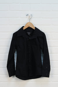 Black Button Up (Size XS/4-5)