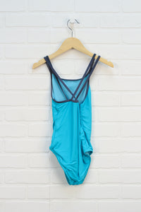 Turquoise Swimsuit (Size 10)