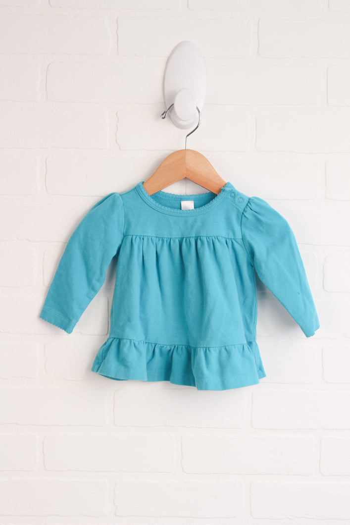 Turquoise Top (Size 3-6M)