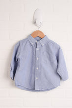 Blue Button-Down (Size 18M)