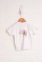 White Graphic T-Shirt (Size 80/18M)
