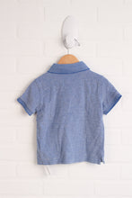 Heathered Blue Polo (Size 2)