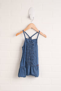 Chambray Dress (Size 18M)
