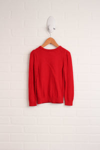 Red Cable Knit Sweater (Size 2-4)