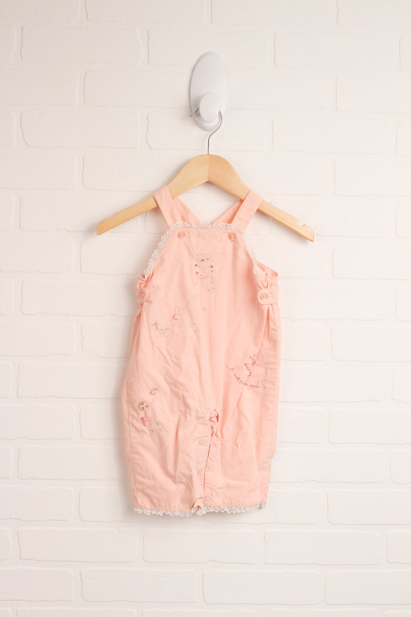 Vintage Overalls (Size 3-6M)