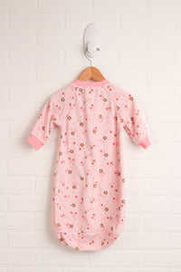 Blush Fleece Sleepsack (Carter's Size 0-9M)