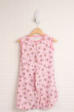 Pink Sleepsack: Monkeys (Size 6-12M)