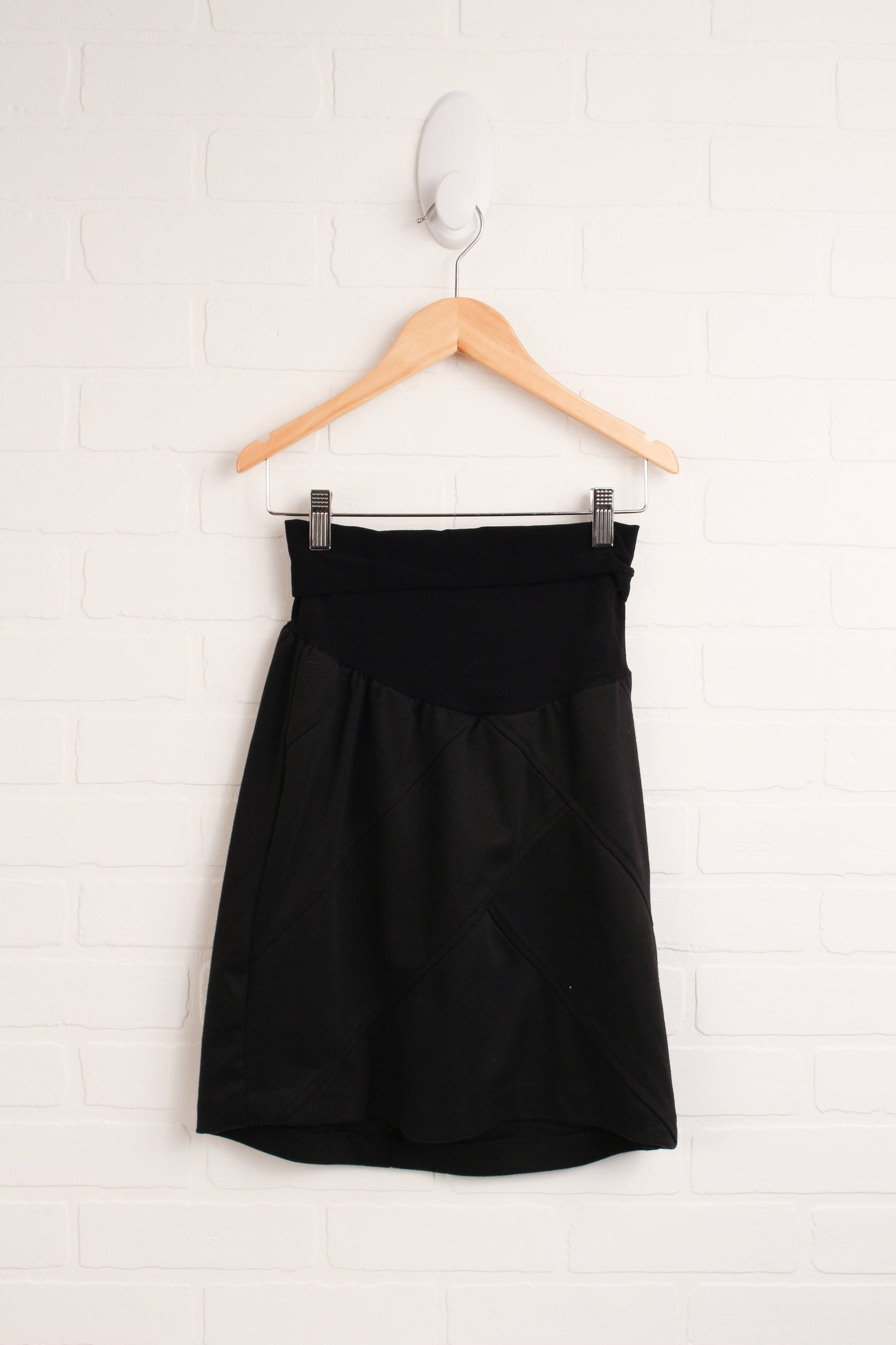 Black Maternity Skirt (Maternity Size S)