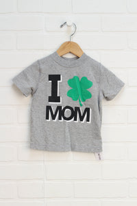 Heathered Grey Graphic T-Shirt (Size 18-24M)