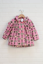 Pink + Brown Raincoat (Size 9-12M)
