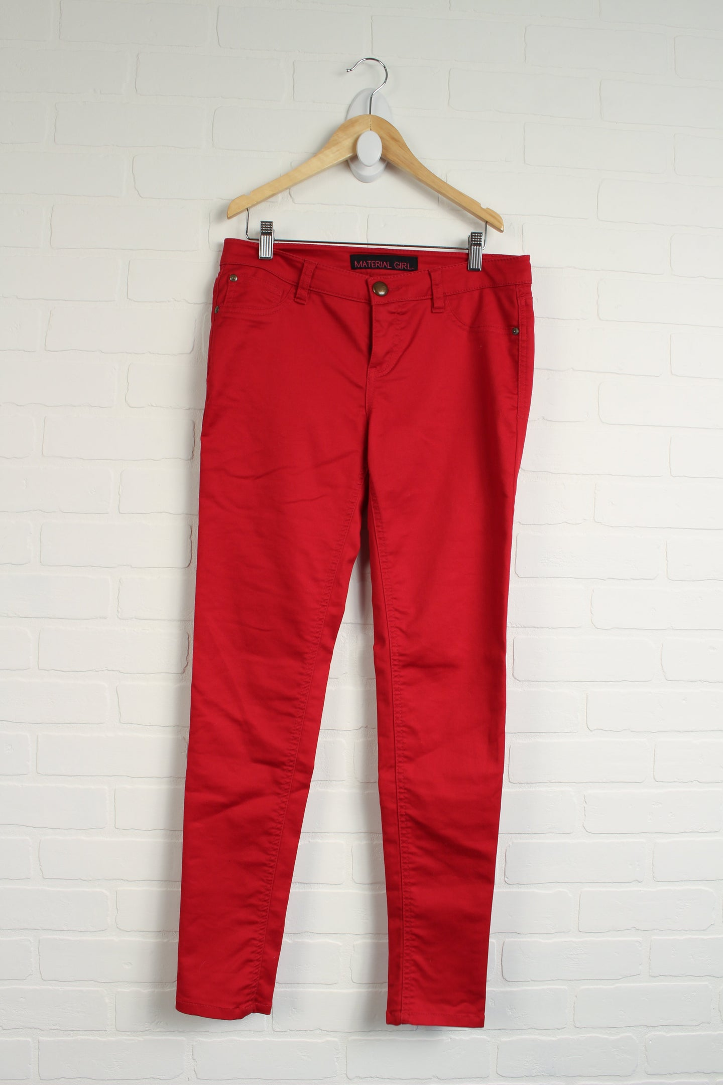 Red Skinny Jeans (Women's Size 7)