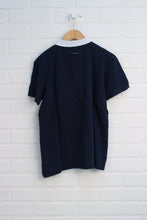 Navy + White Polo (Size 14)