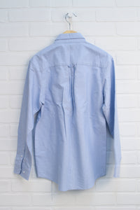 Light Blue Button Down Shirt (Size 14)