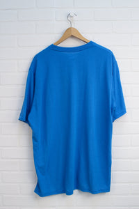NWT Blue Graphic T-Shirt (Men's Size XL)
