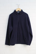 Navy Fleece Pullover (Size L/10-12)