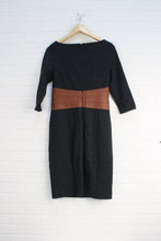 Black + Brown Dress (Women's Size 6)