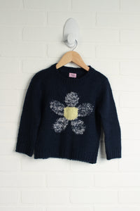 Navy Graphic Sweater (Size 18-24M)