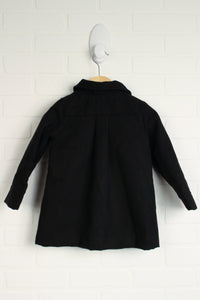 Black Swing Coat (Size 2-3T)