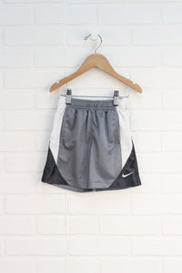 Grey + White Athletic Shorts (Size 2T)