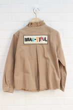 Tan Canvas Jacket (Size 8)