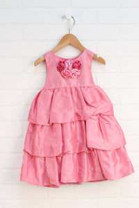Pink Party Dress (Size 24M)