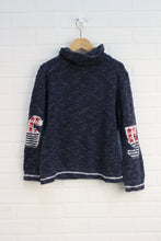 Heathered Navy Sweater (Size 9-10)
