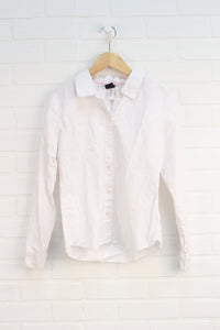 White Button-Up (Size XL/12)