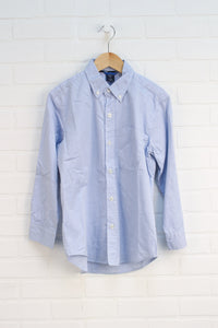 Light Blue Button-Down (Size M/8)