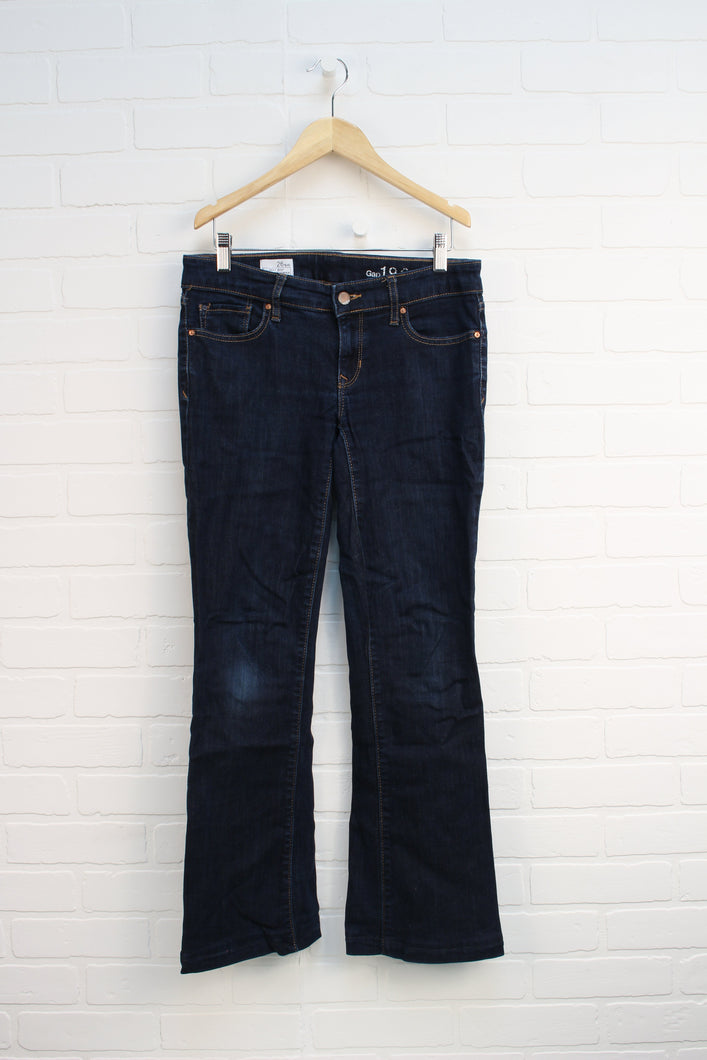 Dark Wash Bootcut Jeans (Women's Size 2)