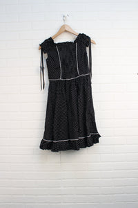 NWT Black Polka Dot Dress (Women's Size XL)