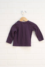 Plum Graphic T-Shirt (Size 74/9-12M)