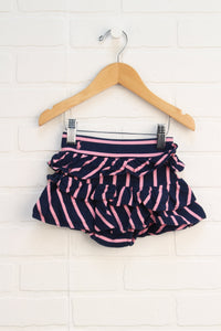 Navy + Pink Skirt (Size 12M)