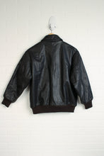 Brown Faux Leather Coat (Men's Size M)