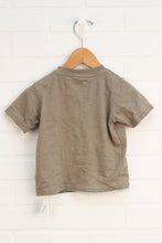 Khaki Graphic T-Shirt: Motorcycle (Size 18M)