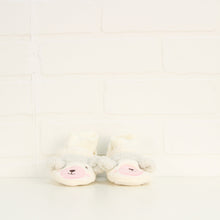 Cream Lamb Booties (Size S/Little Kids Shoe Size 1-2)