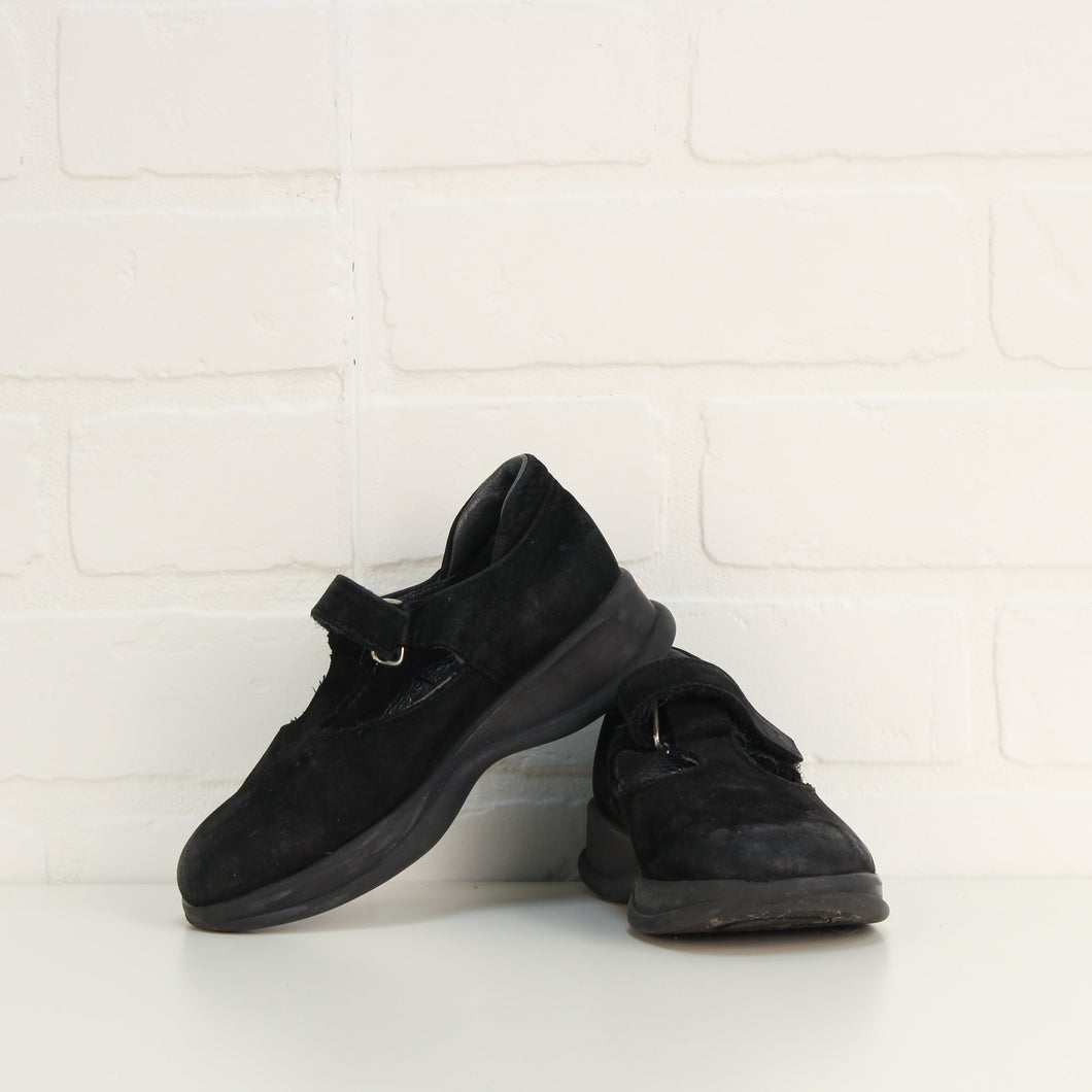 Black Suede Dress Shoes (Little Kids Shoe Size 10)