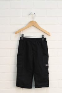 Black Athletic Pants (Size 12M)