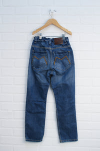 Distressed Wash Jeans (Size 134/9)