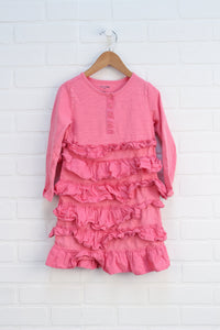 Pink Ruffle Dress (Size 5T)